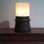 Kings Rook lamp - Lit